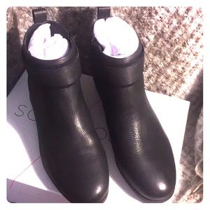 Sole Society Beicie Flat Bootie New with box.
